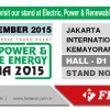 INDONESIA 16-19 SEPTEMBER 2015