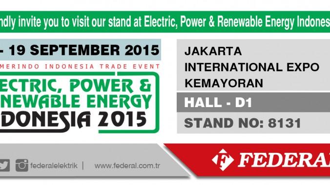 INDONESIA 16-19 SEPTEMBER 2015