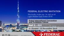 DUBAI 31 October – 02 November 2016