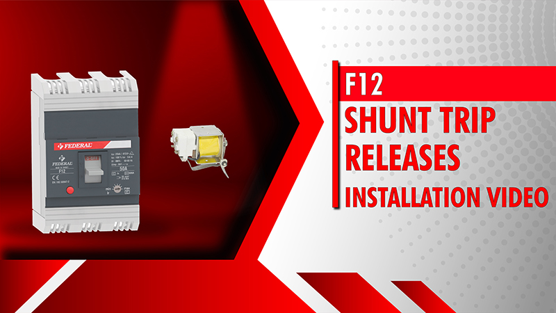 F12 Shunt Trip Releases Installation Video