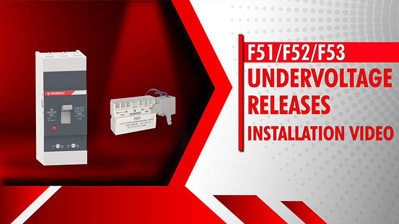 F51-F52-F53 Undervoltage Releases Installation Video