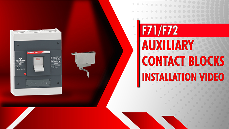 F71-F72 Auxiliary Contact Blocks Installation Video