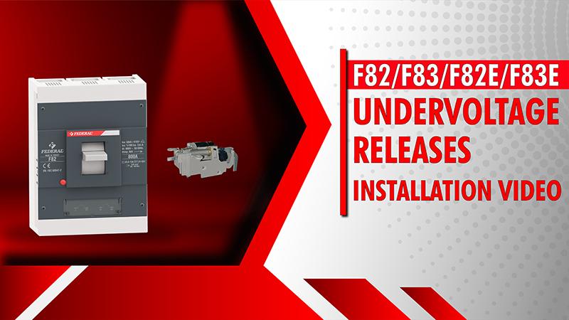F82-F83-F82E-F83E Undervoltage Releases Installation Video