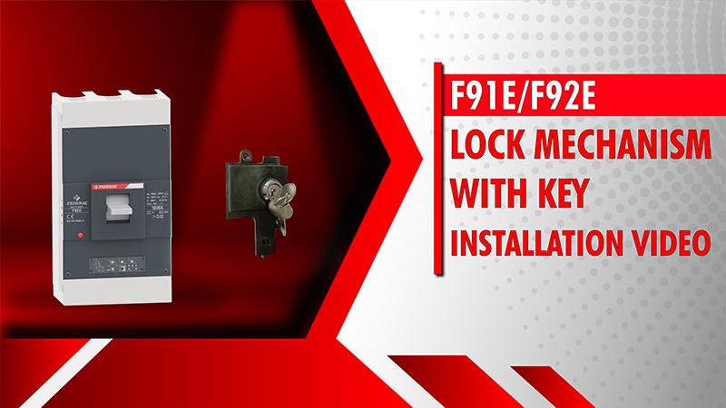 F91E-F92E Lock Mechanism With Key Installation Video