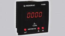 FYA96-2R Ampermetre 2 Röleli
