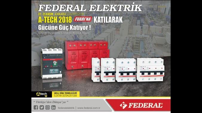 2018 A-TECH Akıllı Bina Teknolojileri ve Elektrik Sistemleri Fuarı