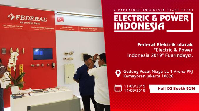Electric & Power Indonesia 2019 Fuarındayız