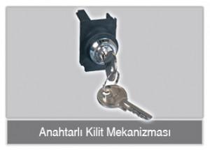 anahtarlı kilit mekanizması