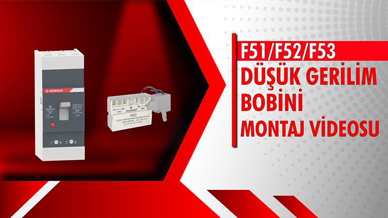 F51-F52-F53 Düşük Gerilim Bobini Videosu