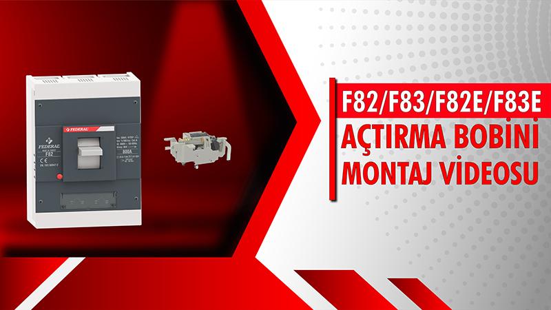 F82-F83-F82E-F83E Açtırma Bobini Montaj Videosu