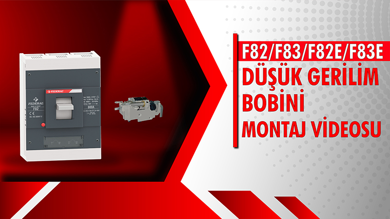F82-F83-F82E-F83E Düşük Gerilim Bobini Videosu