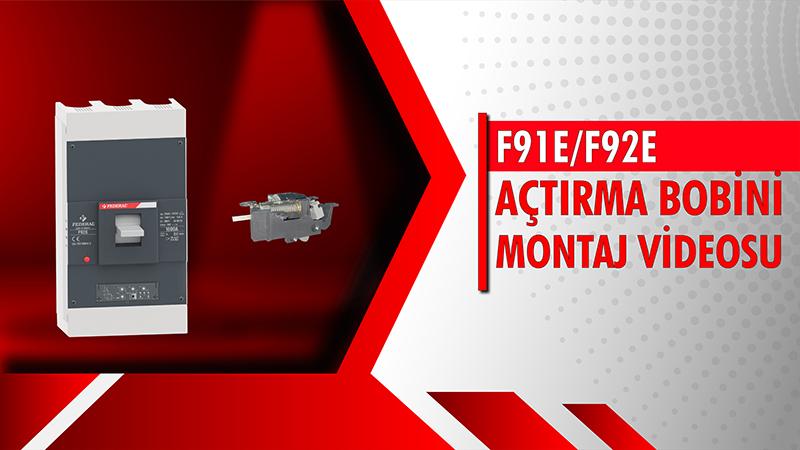 F91E-F92E Açtırma Bobini Montaj Videosu